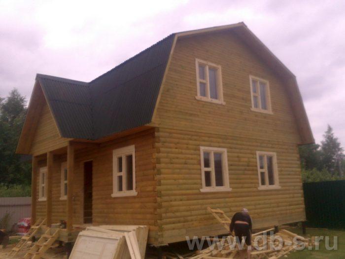 Строительство дома из бруса с мансардой 9 на 7 Люберцы, Московская область фото 1
