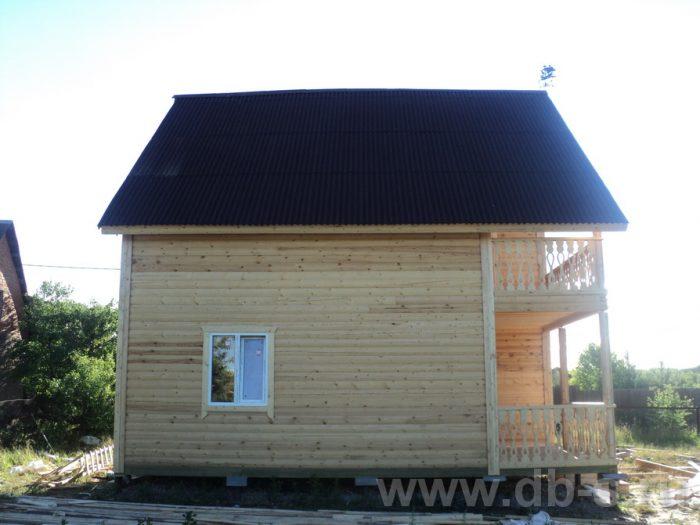 Строительство двухэтажного дома из бруса 8 на 8 Коломна, Московская область фото 12