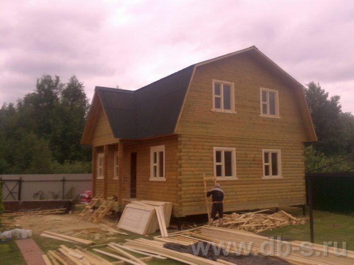Строительство дома из бруса с мансардой 9 на 7 Люберцы, Московская область фото 11
