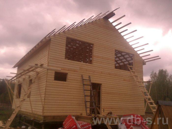 Строительство двухэтажного каркасного дома 10 на 8 Петушки, Владимирская область фото 11