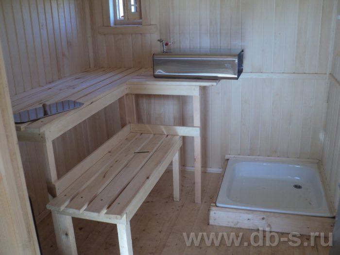 Строительство одноэтажной бани из бруса 7 на 2,3 Балашиха, Московская область фото 10