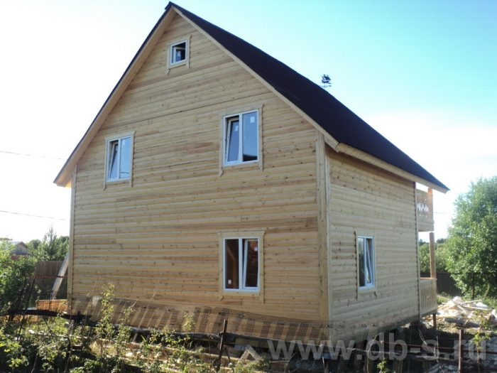 Строительство двухэтажного дома из бруса 8 на 8 Коломна, Московская область фото 14