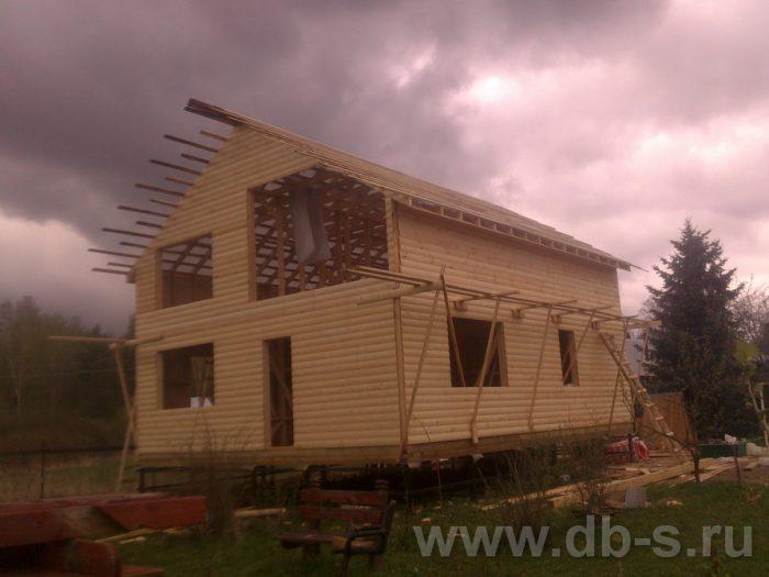 Строительство двухэтажного каркасного дома 10 на 8 Петушки, Владимирская область фото 12