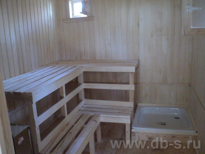 Строительство одноэтажной бани из бруса 7 на 2,3 Балашиха, Московская область фото 11