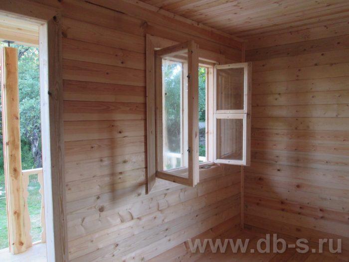 Строительство дома из бруса с мансардой 6 на 6 Солнечногорск, Московская область фото 10