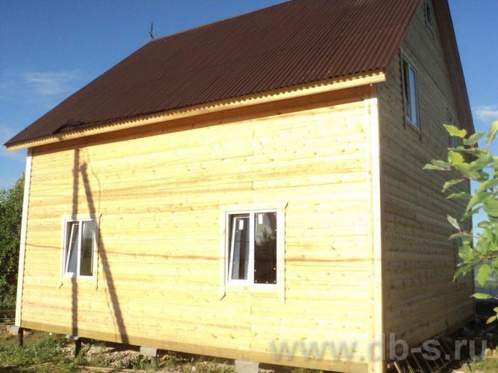 Строительство двухэтажного дома из бруса 8 на 8 Коломна, Московская область фото 15
