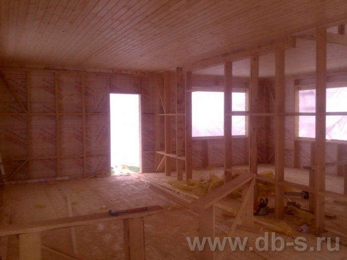 Строительство двухэтажного каркасного дома 10 на 8 Петушки, Владимирская область фото 13