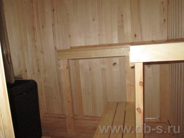 Строительство одноэтажной бани из бруса 6 на 4 Люберцы, Московская область фото 11