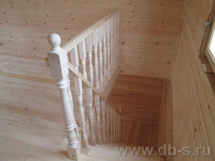 Строительство дома из бруса с мансардой 6 на 6 Переславль-Залесский, Ярославская область фото 11