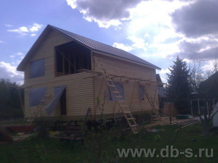 Строительство двухэтажного каркасного дома 10 на 8 Петушки, Владимирская область фото 14