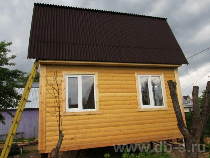 Строительство дома из бруса с мансардой 6 на 5 Гаврилов-Ям, Ярославская область фото 17