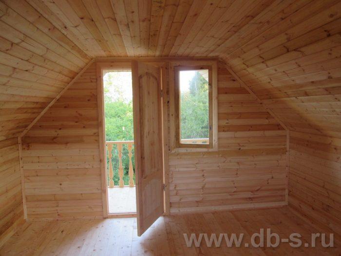 Строительство дома из бруса с мансардой 6 на 6 Солнечногорск, Московская область фото 12