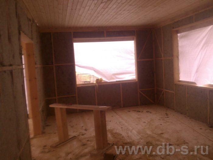 Строительство двухэтажного каркасного дома 10 на 8 Петушки, Владимирская область фото 15