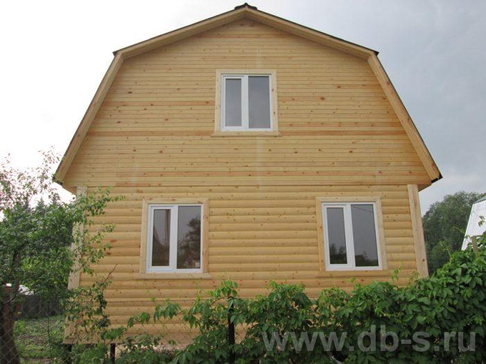 Строительство дома из бруса с мансардой 6 на 5 Гаврилов-Ям, Ярославская область фото 1