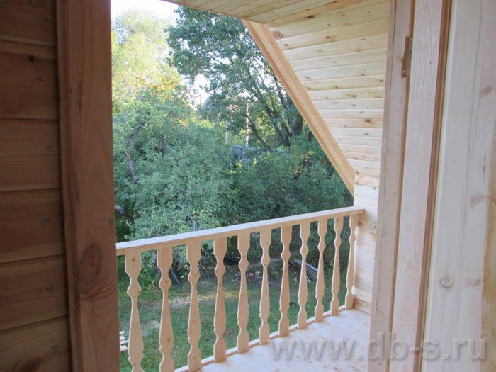Строительство дома из бруса с мансардой 6 на 6 Солнечногорск, Московская область фото 13