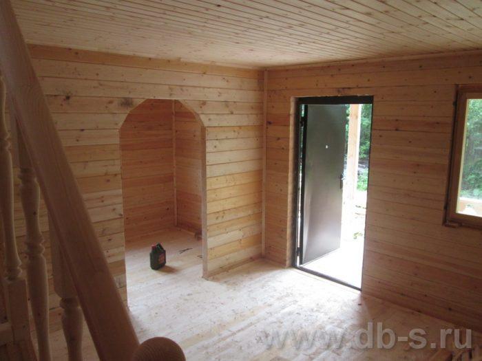 Строительство дома из бруса с мансардой 6 на 6 Переславль-Залесский, Ярославская область фото 12
