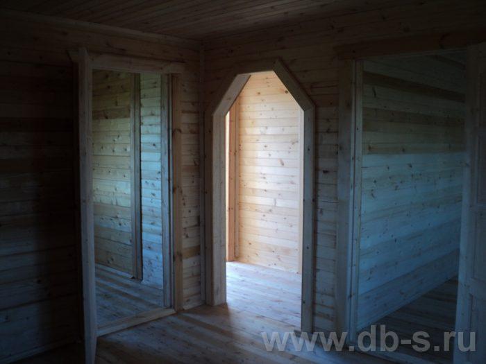 Строительство двухэтажного дома из бруса 8 на 8 Коломна, Московская область фото 18