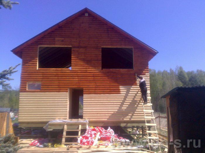 Строительство двухэтажного каркасного дома 10 на 8 Петушки, Владимирская область фото 16