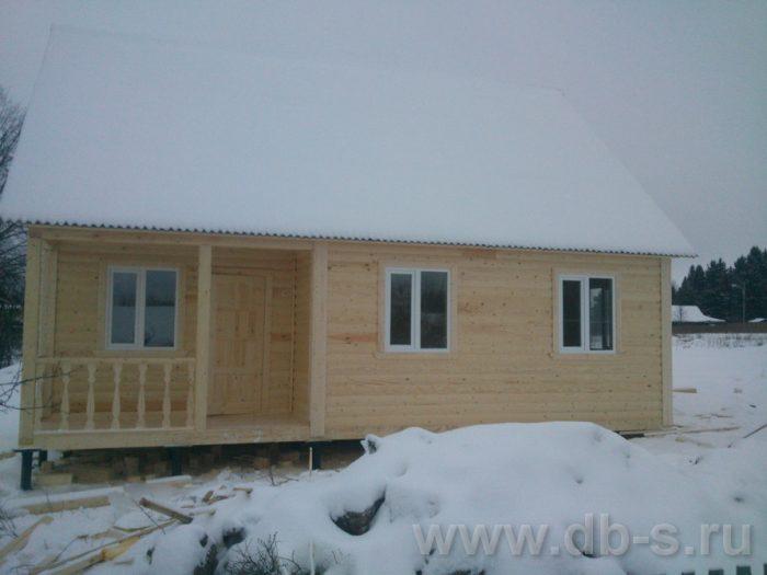 Строительство дома из бруса с мансардой 9 на 7.5 Электросталь, Московская область фото 2