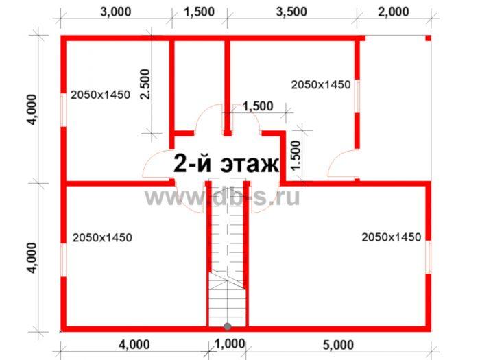 Строительство двухэтажного каркасного дома 10 на 8 Петушки, Владимирская область фото 3
