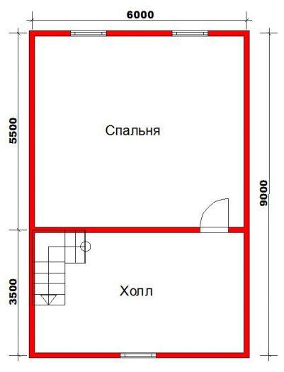 Строительство двухэтажного дома из бруса 9 на 9 Волхов, Ленинградская область фото 5