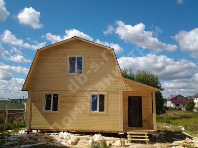 Строительство дома 6х8 г. Королёв