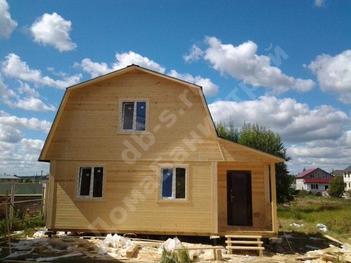 Строительство каркасного дома с мансардой 8 на 6 Королёв, Московская область фото 1