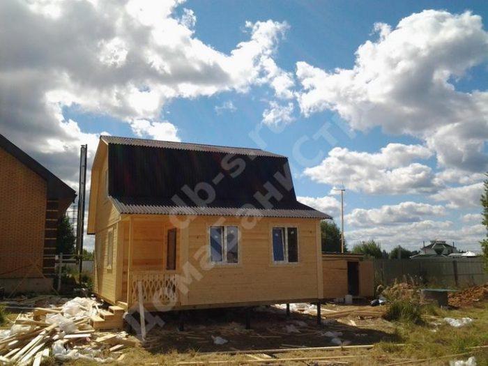 Строительство каркасного дома с мансардой 8 на 6 Королёв, Московская область фото 3