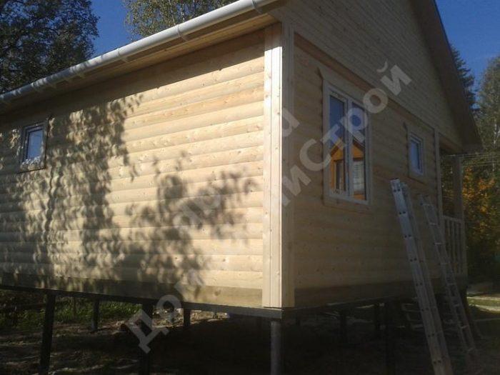 Строительство одноэтажной бани из бруса 6 на 6 Жуков, Калужская область фото 7