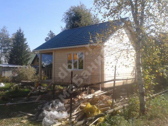 Строительство одноэтажной бани из бруса 6 на 6 Жуков, Калужская область фото 4