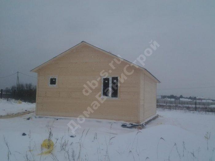 Строительство одноэтажного каркасного дома 7.5 на 9 Суворов, Тульская область фото 1