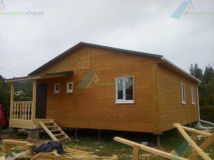 Строительство одноэтажного каркасного дома 8 на 9 Химки, Московская область фото 2