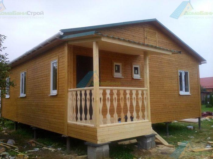 Строительство одноэтажного каркасного дома 8 на 9 Химки, Московская область фото 1