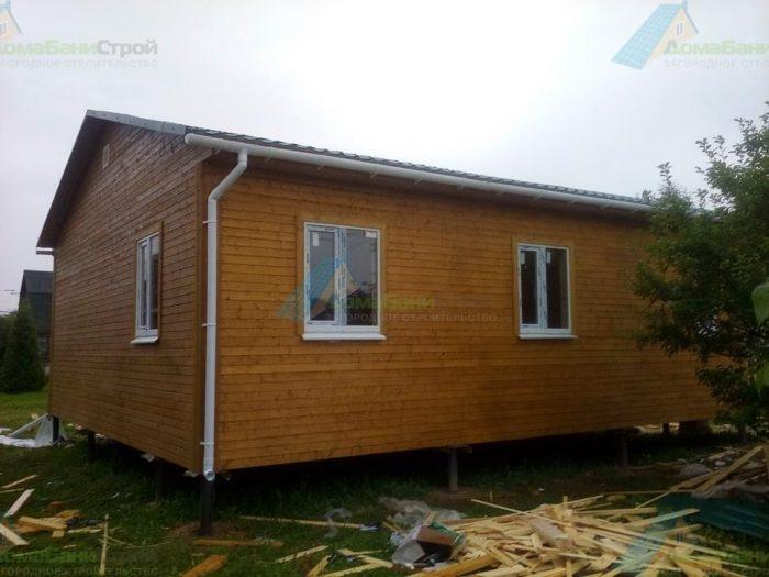 Строительство одноэтажного каркасного дома 8 на 9 Химки, Московская область фото 3