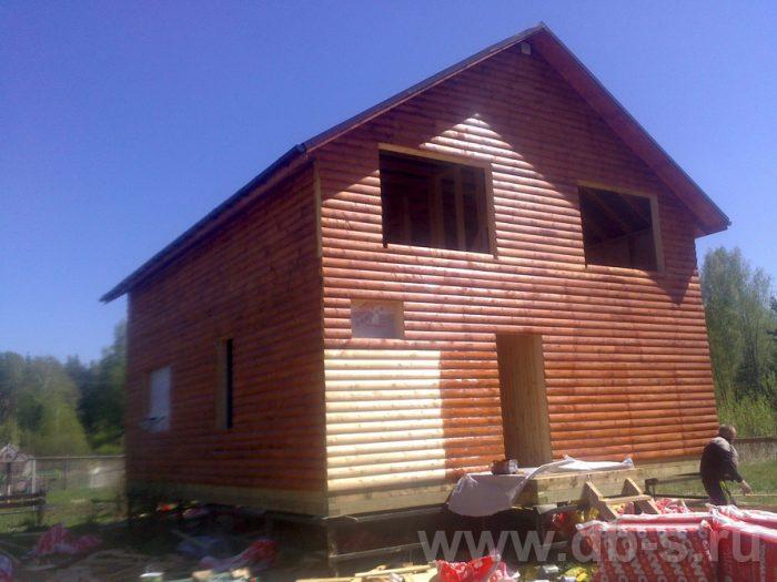 Строительство двухэтажного каркасного дома 10 на 8 Петушки, Владимирская область фото 17