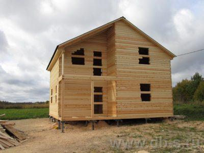 Строительство дома 8х8 г. Бокситогорск