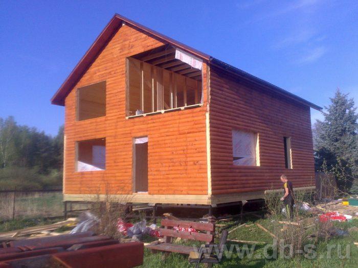Строительство двухэтажного каркасного дома 10 на 8 Петушки, Владимирская область фото 18