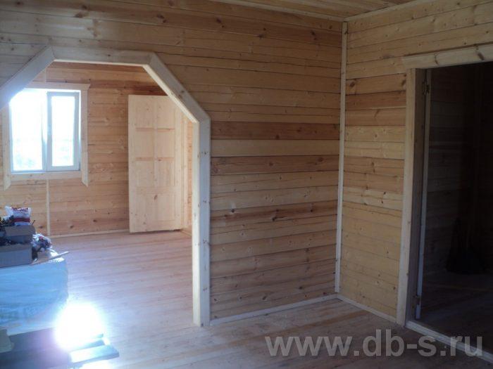 Строительство двухэтажного дома из бруса 8 на 8 Коломна, Московская область фото 21