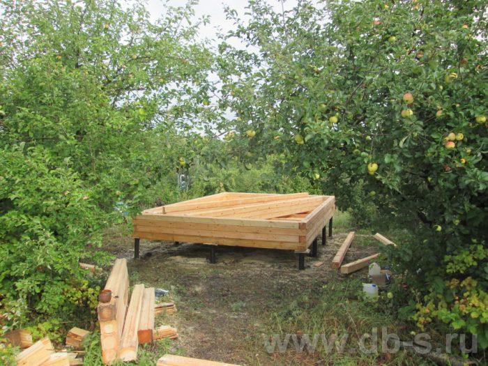 Строительство одноэтажной бани из бруса 6 на 4 Чехов, Московская область фото 10