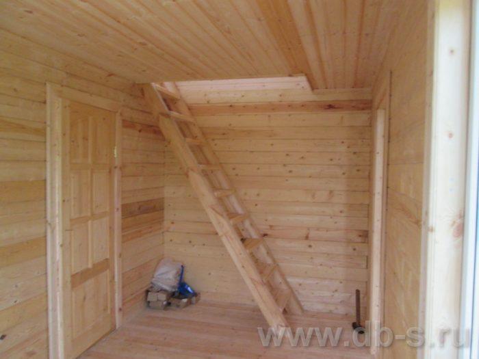 Строительство дома из бруса с мансардой 6 на 5 Гаврилов-Ям, Ярославская область фото 21