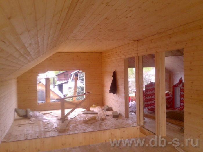Строительство двухэтажного каркасного дома 10 на 8 Петушки, Владимирская область фото 20