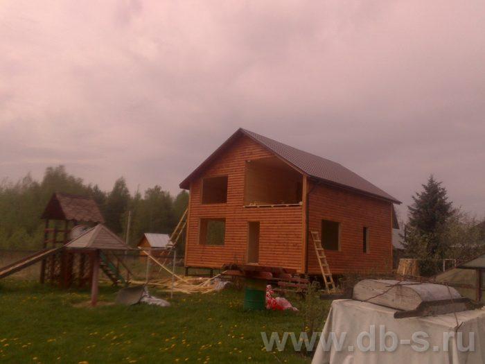Строительство двухэтажного каркасного дома 10 на 8 Петушки, Владимирская область фото 21