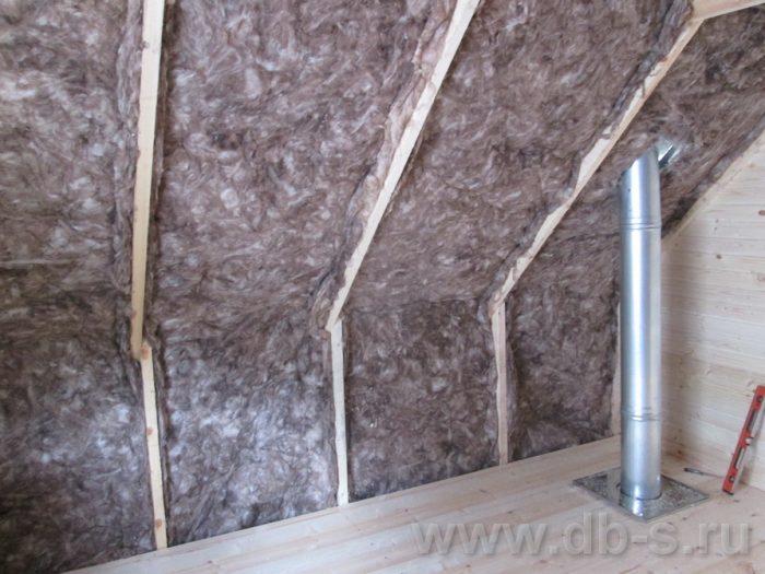 Строительство бани из бруса с мансардой 6 на 4 Балашиха, Московская область фото 12