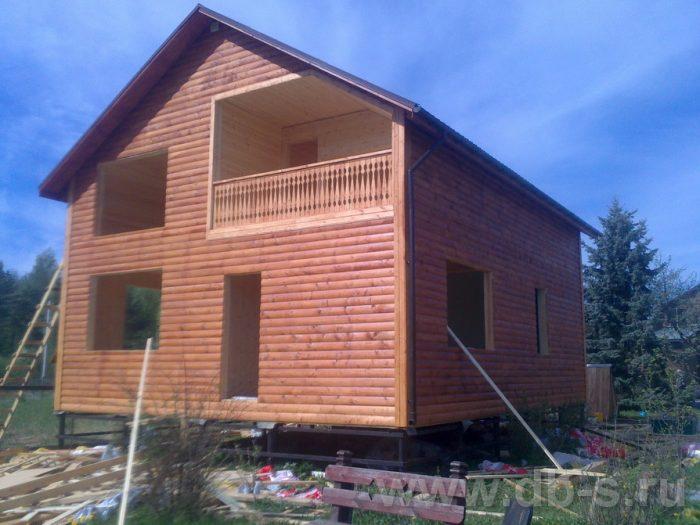 Строительство двухэтажного каркасного дома 10 на 8 Петушки, Владимирская область фото 22