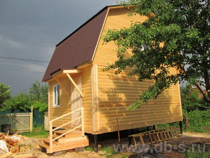 Строительство дома из бруса с мансардой 6 на 5 Гаврилов-Ям, Ярославская область фото 25