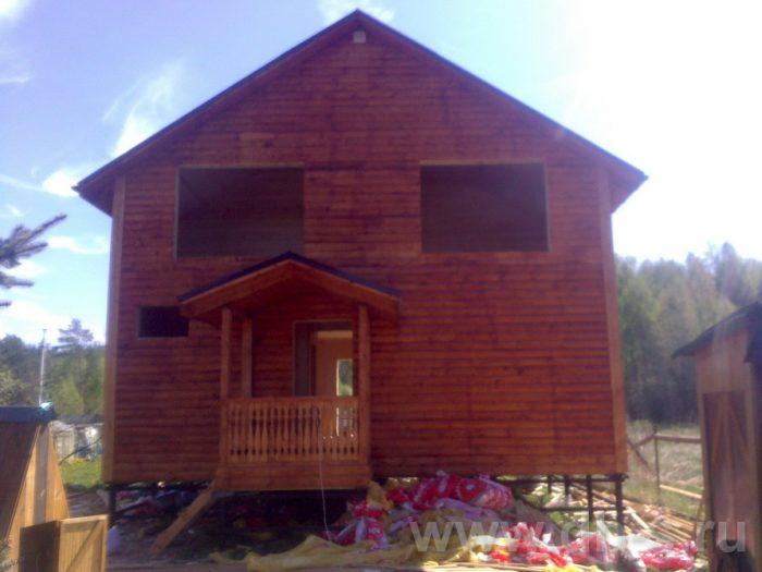 Строительство двухэтажного каркасного дома 10 на 8 Петушки, Владимирская область фото 24