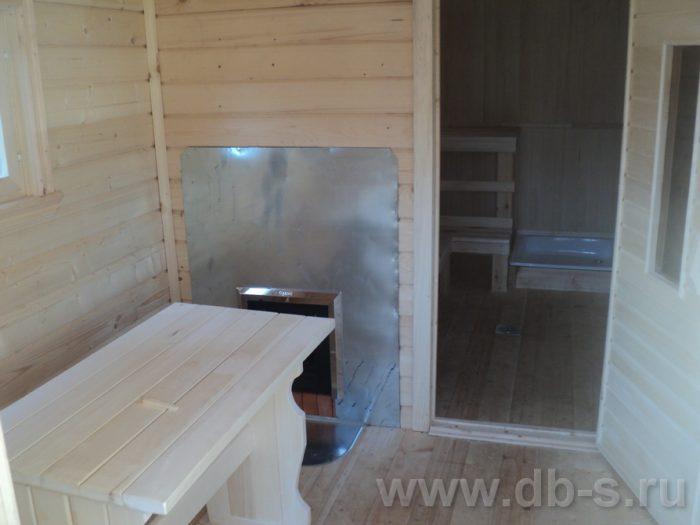 Строительство одноэтажной бани из бруса 7 на 2,3 Балашиха, Московская область фото 16