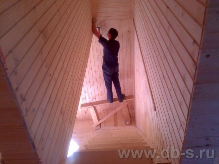 Строительство двухэтажного каркасного дома 10 на 8 Петушки, Владимирская область фото 26