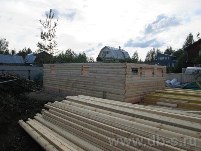 Строительство двухэтажного дома из бруса 8 на 6 Чехов, Московская область фото 3