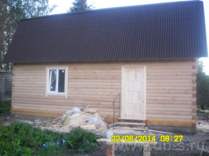 Строительство дома из бруса с мансардой 6 на 9 Королёв, Московская область фото 3